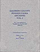 Dauphin County, Pennsylvania, Archives,…