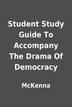 Student Study Guide To Accompany The Drama…