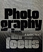 Photography in focus; Teacher's Manual by…