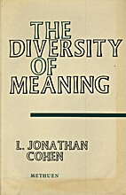 The diversity of meaning by L. Jonathan…