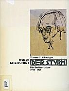 Oskar Kokoschka und Dersturm by Werner…