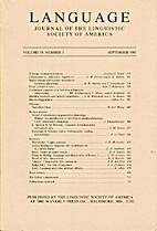 Language 59 (1983) 3: 479-720
