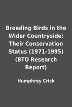 Breeding Birds in the Wider Countryside:…