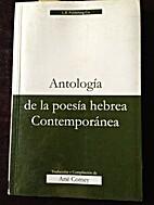 Antologia de la Poesia Hebrea Contemporanea…