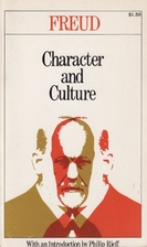 Character and Culture by Sigmund Freud