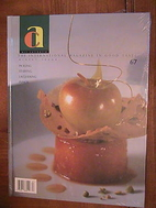 Art Culinaire: The International Magazine In…