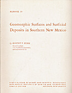 Geomorphic surfaces and surficial deposits…