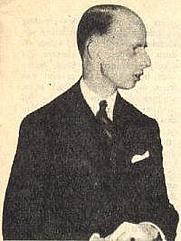 Author photo. Eelco Nicolaas van Kleffens, 1943 [credit: unknown; source: De Wervelwind 2(14)]