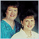 Author photo. Julie Keene and Ione Jensen ~ Photo courtesy of Hay House, Inc.