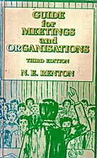 Guide for meetings and organisations by N.…