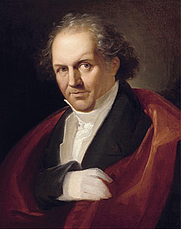 Author photo. Portrait of Giambattista Bodoni, c.1805-1806, by Giuseppe Lucatelli (1751-1828), oil on canvas. Scan from Bodoni, Manual of Typography - Manuale tipografico edited by Stephan Füssel. Published by Taschen 2010. ISBN: 978-3-8365-0553-6.