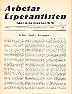 Arbetar Esperantisten / Laborista…