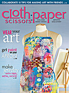 Cloth Paper Scissors Magazine 2015 May/June…