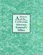 A History of the California Attorney…