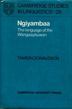 Ngiyambaa: The Language of the Wangaaybuwan…