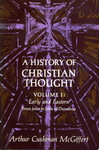 A History of Christian Thought Volume I…