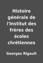 Histoire générale de…