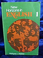 New horizons in English by Lars Mellgren