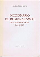 Diccionario De Regionalismos De La Provincia…