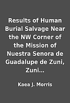 Results of Human Burial Salvage Near the NW…
