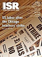 International Socialist Review, Issue 89
