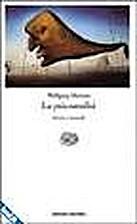 La psicoanalisi: storia e metodi by Wolfang…