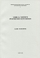 Verbi ja noomeni püsiühendid eesti keeles…