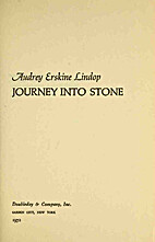 Journey into Stone by Lindop Audrey Erskine