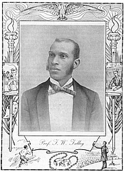 Author photo. From: TWENTIETH CENTURY NEGRO LITERATURE