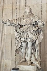 Author photo. Sculpture by Francesco Schiaffino, 1748,<br> Musée du Louvre, Paris, France <br>(Credit: Marie Lan-Nguyen, 2006)