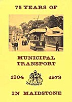 75 years of municipal transport in…