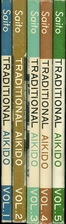 Traditional Aikido Volumes 1-5 complete Set…