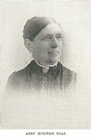 Author photo. Abby Morton Diaz (1821-1904) Buffalo Electrotype and Engraving Co., Buffalo, N.Y.