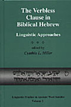 The Verbless Clause in Biblical Hebrew:…