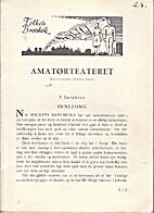 Folkets brevskole; Amatørteateret, brev…