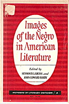 Images of the Negro in American Literature…