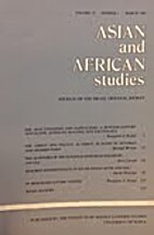 Asian and African studies (Haifa) : journal…