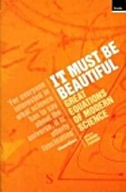 It Must Be Beautiful: Great Equations of…