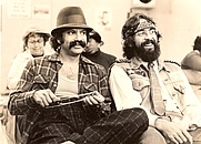 "Author photo. Richard ""Cheech"" Marin & Tommy Chong"