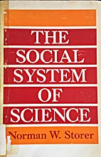 The social system of science by Norman W.…