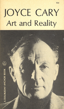 Art and Reality by Joyce Cary