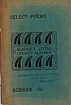 Select poems by Theodor Körner