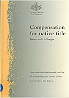 Compensation for Native Title by Anonymous
