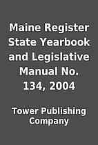 Maine Register State Yearbook and…