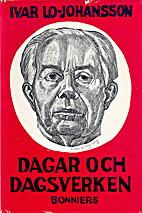 Dagar och dagsverken : debatter och memoarer…
