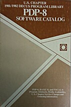 PDP-8 Software Catalog by Digital Equipment…