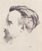 Author photo. Maurice Denis by Odilon Redon (1840-1916)