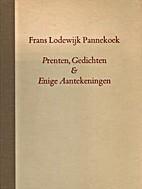 Prenten, Gedichten en Enige Aantekeningen by…