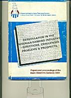 Deregulation in the Nigerian Banking…