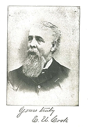 """Author photo. frontespiece from """"The First Mortgage"""" copyright 1891"""